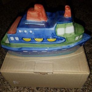 Money bank boat